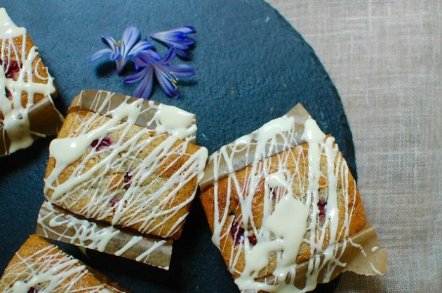 Raspberry & Earl Grey Loaves