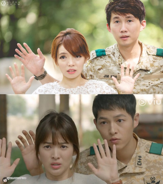 Song Joong Ki Descendants of the Sun Ep10 Surrender