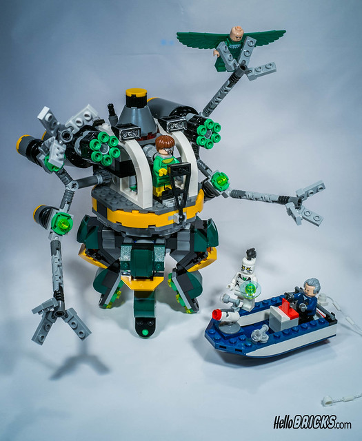 Lego 76059 - Marvel - Super Heroes -Spider-Man : Doc Ock's Tentacle Trap