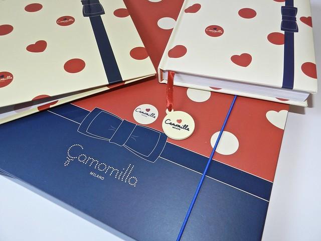 cartelletta e diario Camomilla