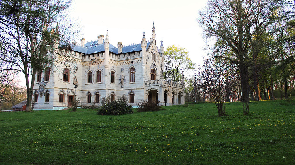 Sturdza castle (Miclauseni,Iasi),Romania