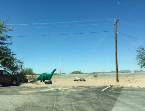 Tucson to Phoenix Dinosaur