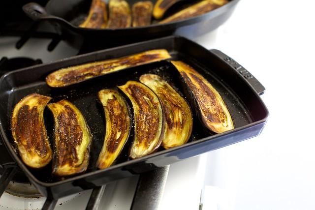 very roasted eggplant
