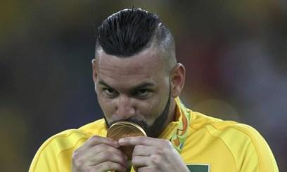 Frase do dia, de weverton, goleiro da seleção olímpica brasileira e medelha de ouro em 2016, no Rio