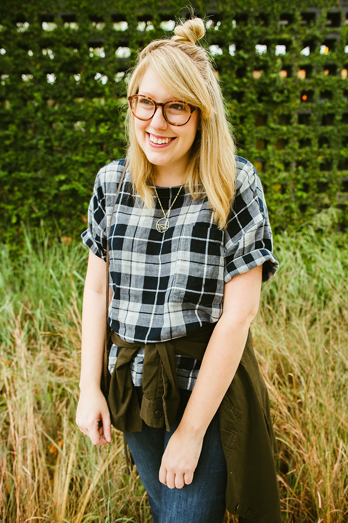 writes like a girl madewell emporia plaid shirt fall outfit12