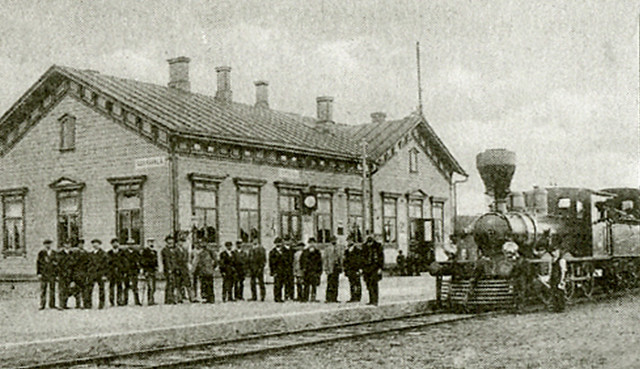 Вокзал начало ХХ века