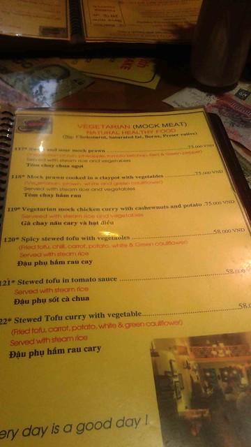 Gecko Restaurant Menu