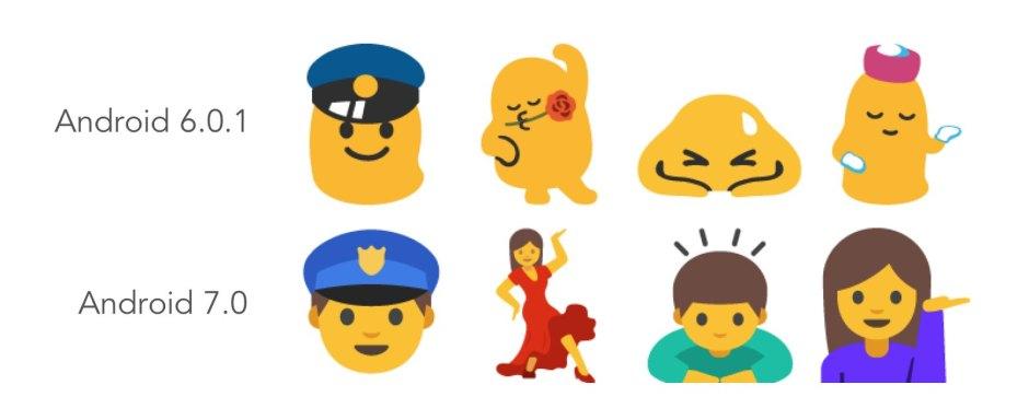 emoji android nougat 2