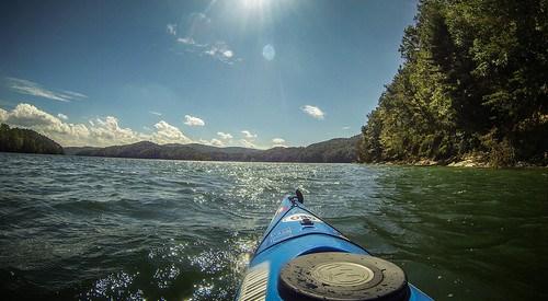 Lake Jocassee with Bennie Waddell-95
