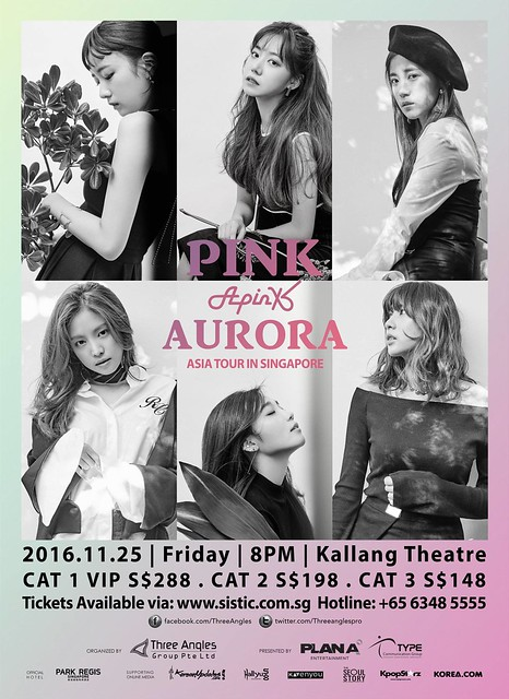 Apink Aurora in Singapore