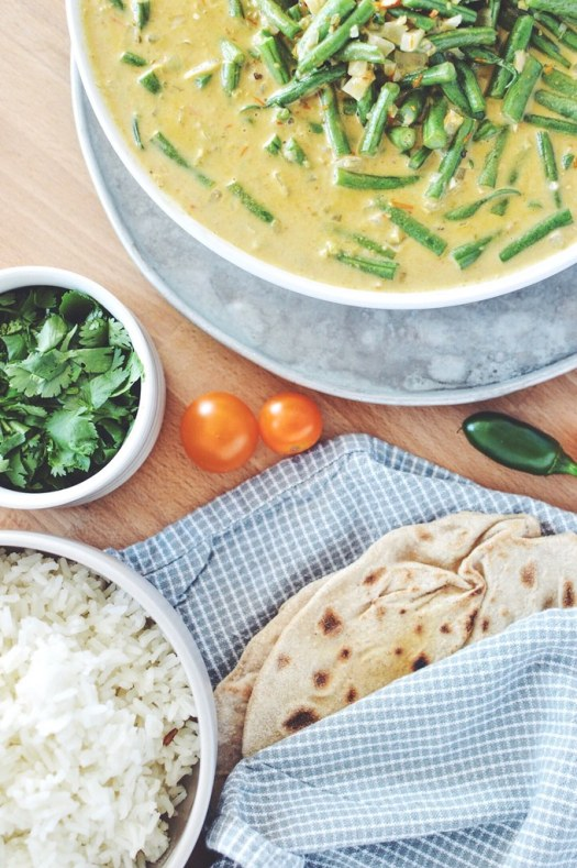 Coconut Green Bean Curry