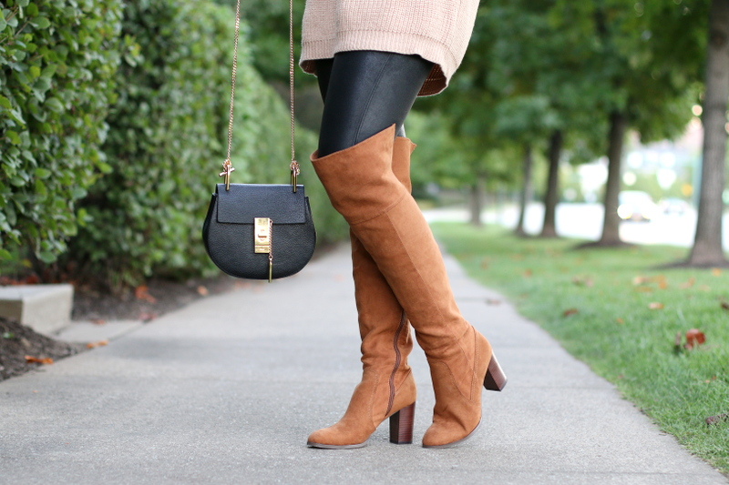 spanx-faux-leather-leggings-otk-boots-chloe-mini-drew-bag-5