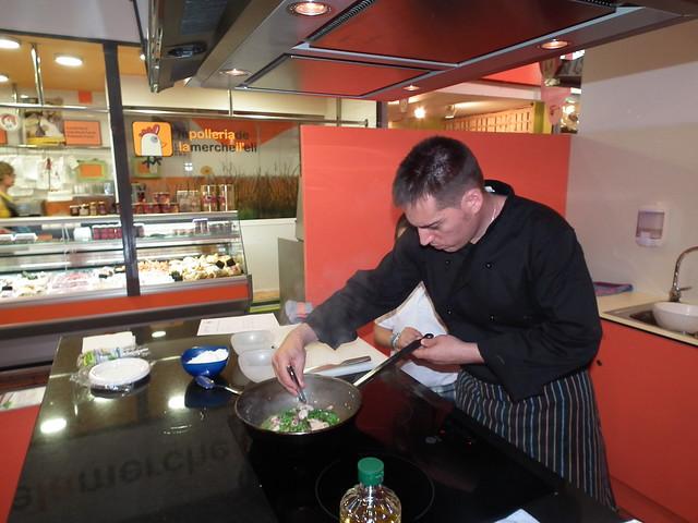 Menú de primavera-estiu, a càrrec d'Antoni Garcia, xef del Restaurant el Mirall