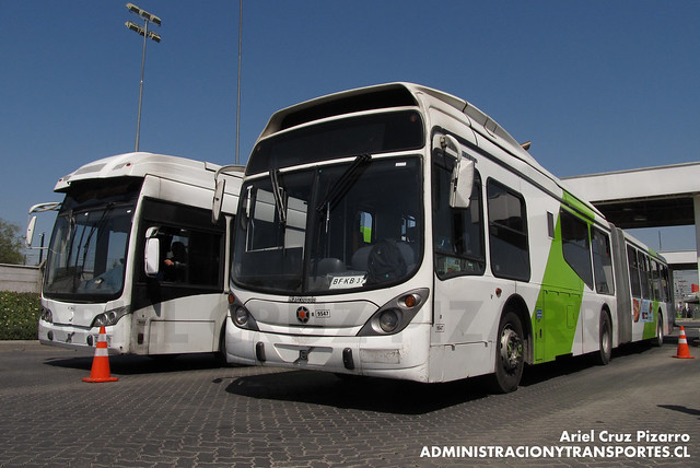 Transantiago - Subus Chile - Caio Mondego LA / Marcopolo Gran Viale (Volvo)