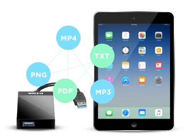Sync and Charge Your iPad Anywhere