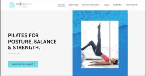 sol studio pilates website 1