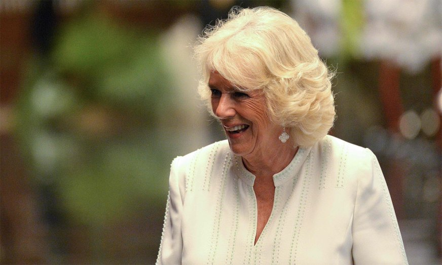 The Duchess of Cornwall's chic evening outfit had a ...