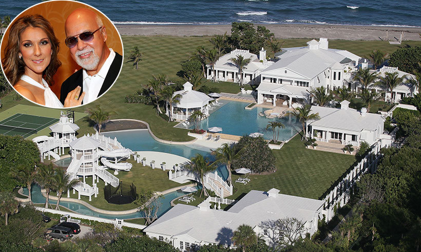 Celine Dion Drops Asking Price On Florida Estate By 30
