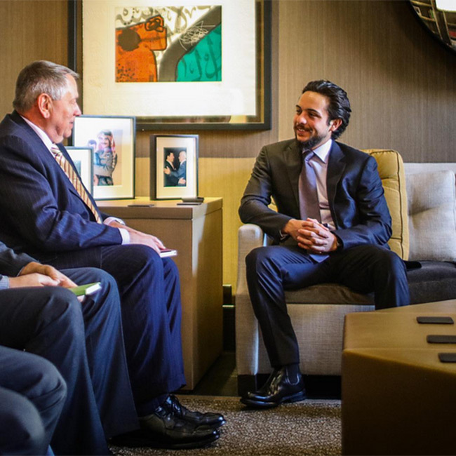 Handsome Prince Hussein Of Jordan Stars In New Personal