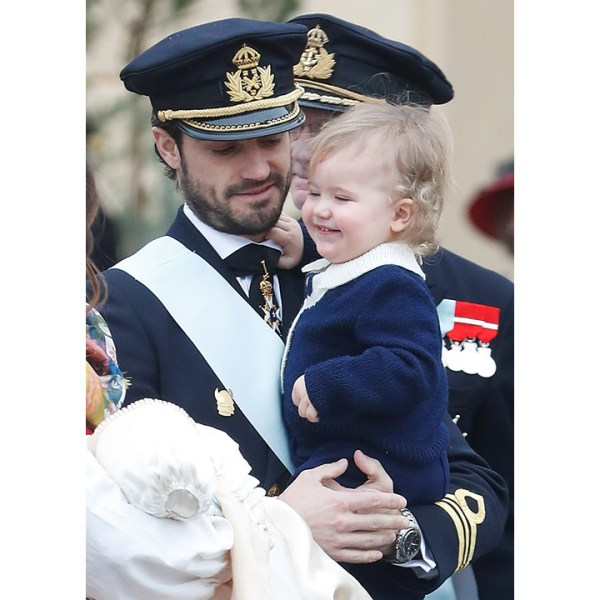 Prince Gabriel of Sweden's christening: All the photos ...