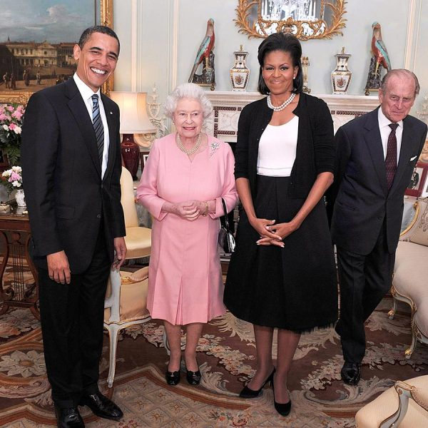 Every American president the Queen has met during her ...
