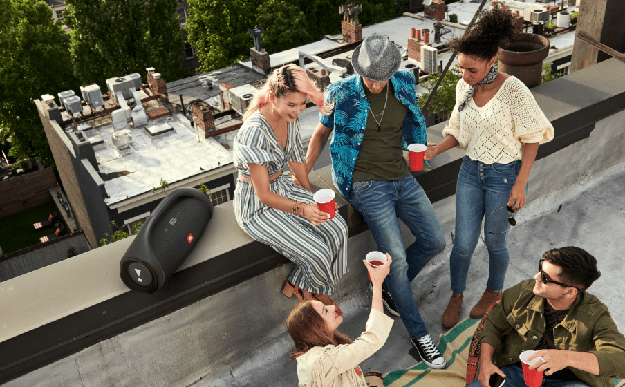Keep the party going with up to 24 hours of playtime