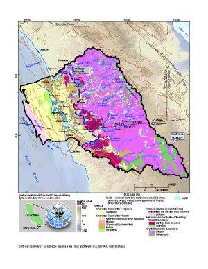 USGS, CA  San Diego Hydrogeology
