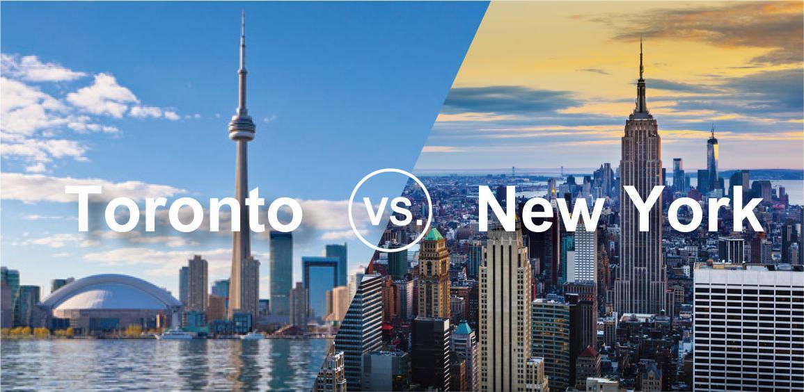 多倫多vs.紐約雙校遊