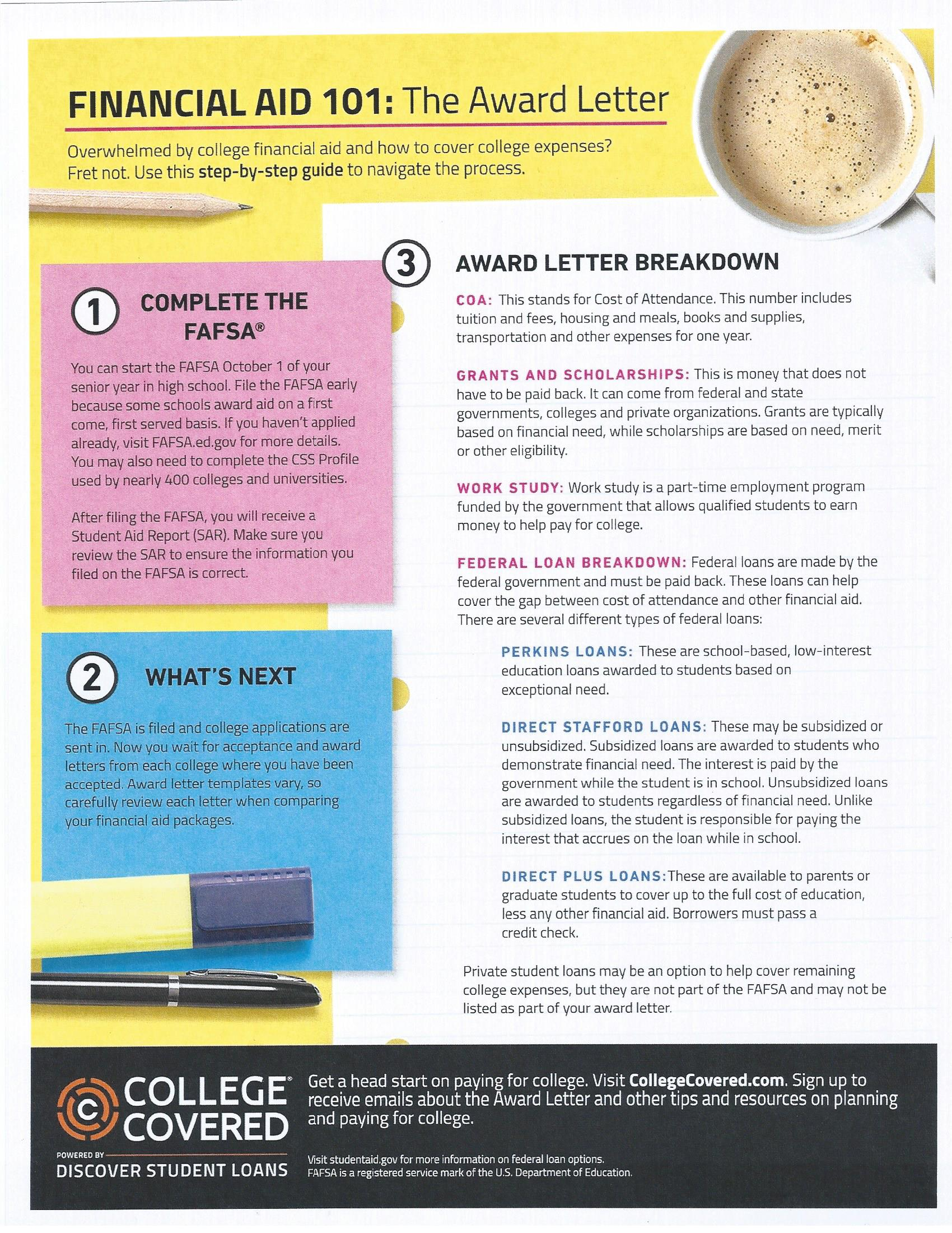 College Amp Career Financial Aid Information