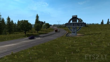 "RusMap"" v1 9 0 [Unofficial update] for ProMods 2 41 [ETS2"
