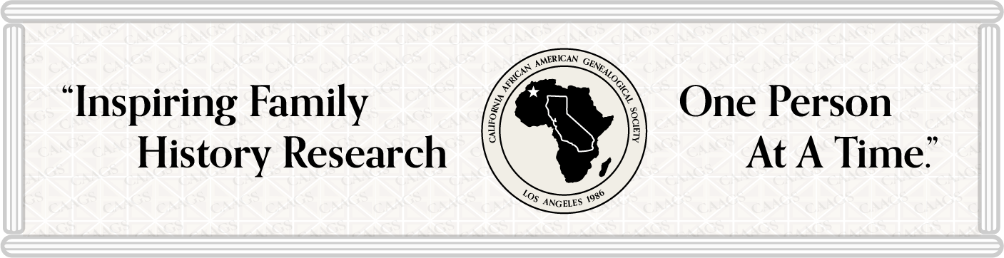 California African American Genealogical Society