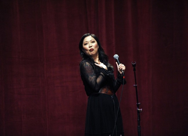 Margaret Cho in 2010. Photo credit: Lindsey Byrnes.