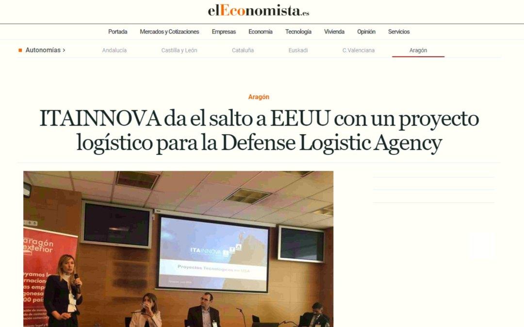 ITAINNOVA da el salto a EEUU con un proyecto logístico para la Defense Logistic Agency