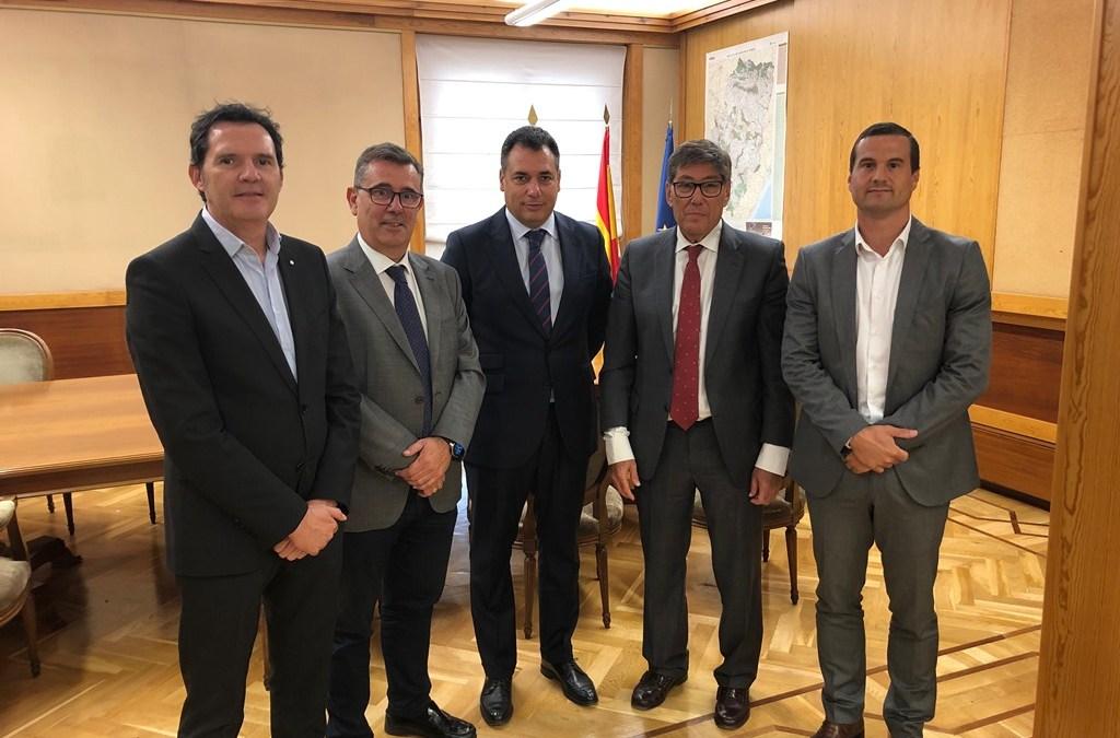 El Clúster de Automoción de Aragón y el Gobierno de Aragón trabajarán juntos para afrontar los nuevos retos del sector