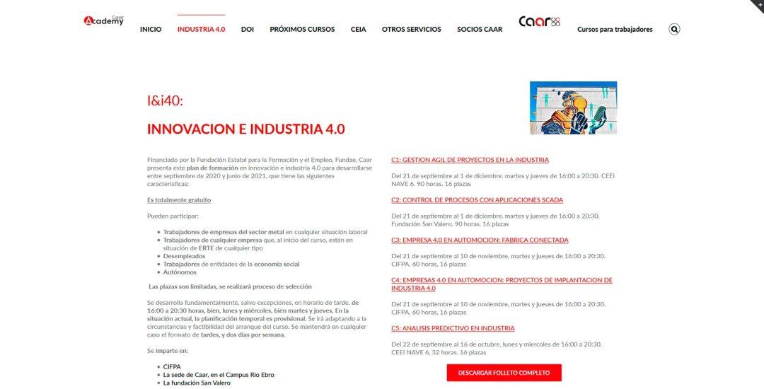 caar-I&i40-formacion-gratuita-innovacion-industria4.0