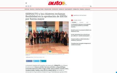 SERNAUTO y los clústeres reclaman flexibilidad en la aprobación de ERTE por fuerza mayor