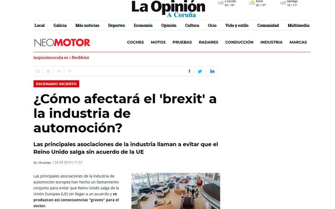 ¿Cómo afectará el 'brexit' a la industria de automoción?