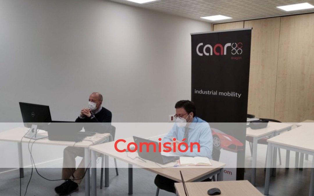 Comisión RRHH y formación del CAAR