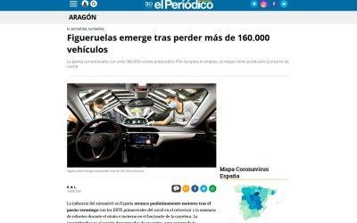 Figueruelas emerge tras perder más de 160.000 vehículos