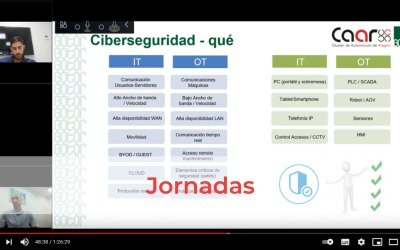 Jornada ciberseguridad industrial