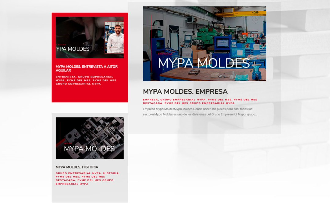 La PYME del mes del CAAR – Mypa Moldes