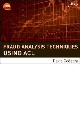 Fraud Analysis Techniques cover