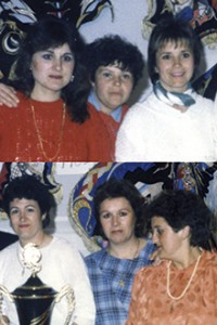 1993 Homenajeado Bordadoras Peña Campeón