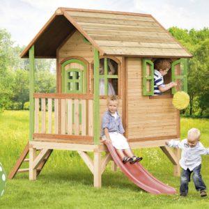 cabane en bois pour enfants le