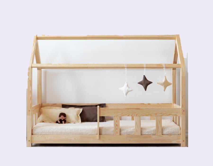 lit cabane avec barriere choix usage