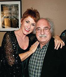 With Amanda McBroom Photo: Mark Rupp