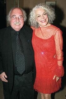 With Marilyn Sokol Photo: Mark Rupp