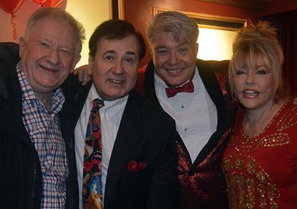 (L-R) Harvey Evans, Lee Roy Reams, Richard Skipper, Rita McKenzie