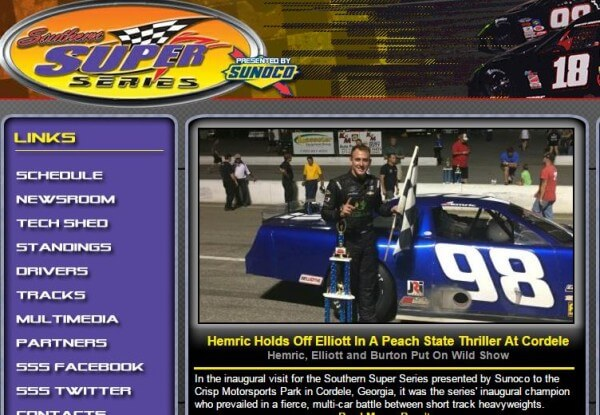Daniel Hemric wins in Southern Super Series