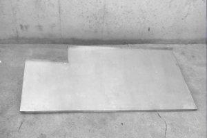 Empostada inox 148x66x20cm